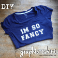 DIY graphic tshirt | Cuddles and Chaos