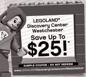KidStuff Coupon Books: Legoland coupon