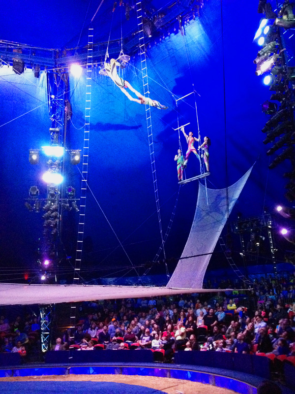 Big Apple Circus: trapeze act