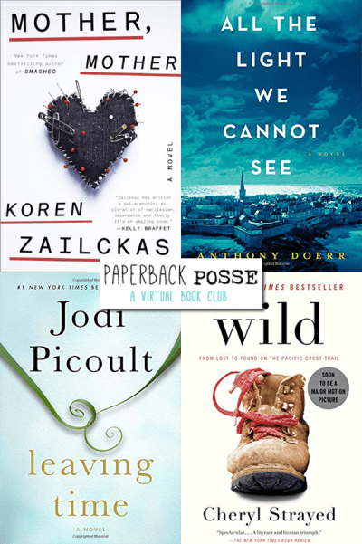 November virtual book club picks #paperbackposse
