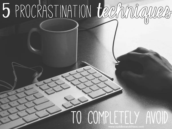procrastination techniques