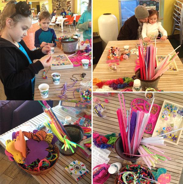 Hope's Door fundraiser | bracelet making