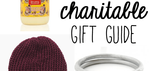 holiday gift guide | gifts that give back