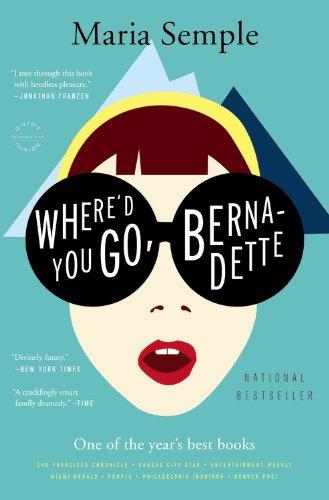 virtual book club december read: where'd you go, bernadette