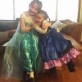Frozen loving sisters