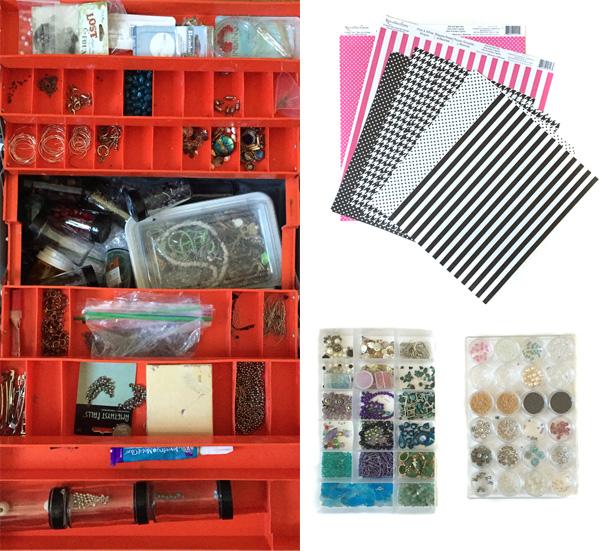 craft supply hoard