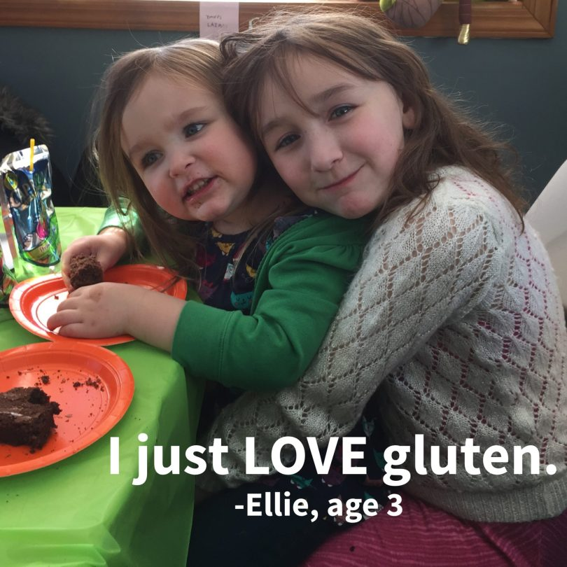 Things My Kids Said | I love gluten