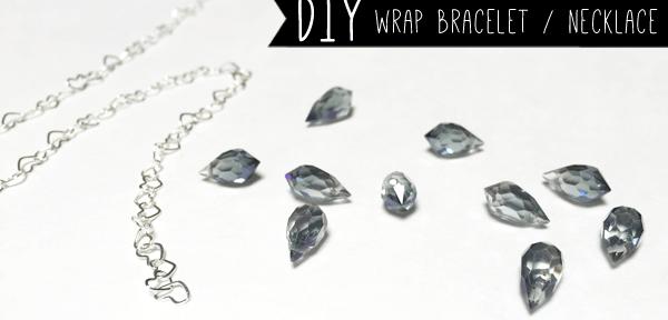 DIY wrap bracelet - necakace