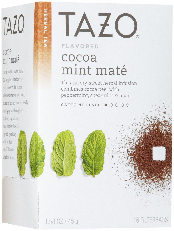 Tazo cocoa mint mate tea