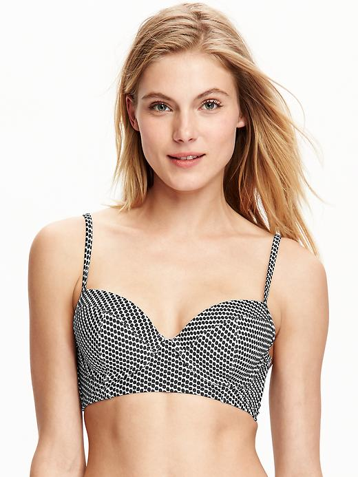 bathing suits for all shapes | old navy balconette top