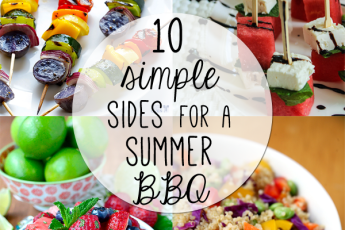 10 simple sides for a summer bbq