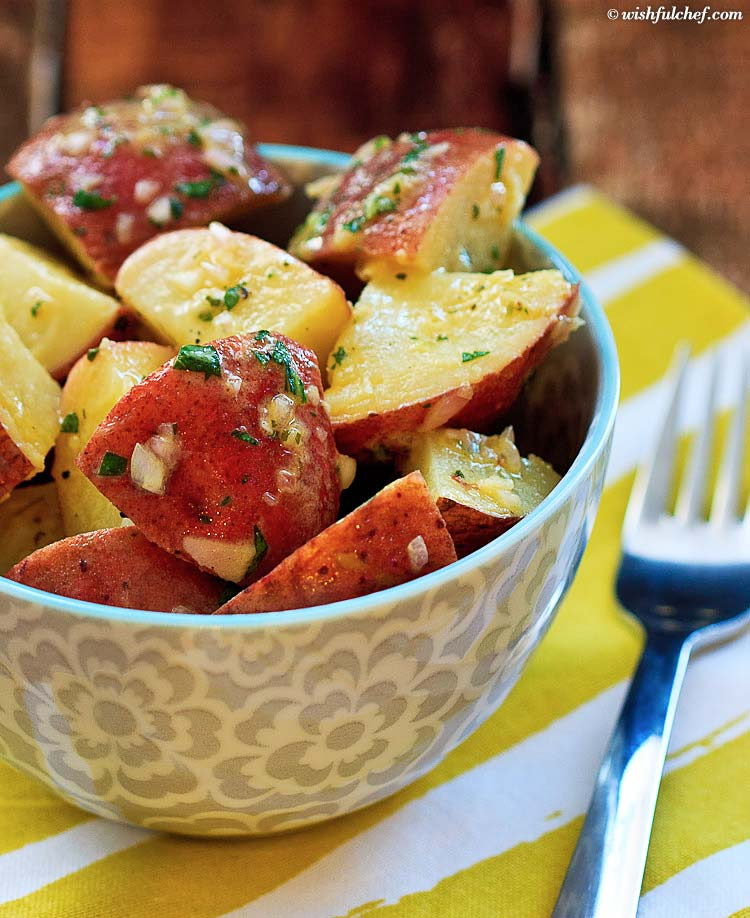 German potato salad via Wishful Chef