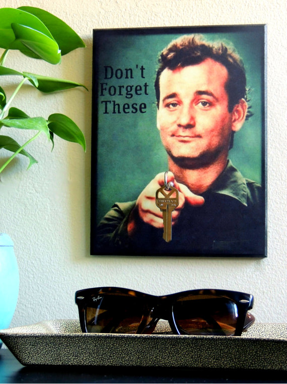 father's day gift guide | Bo Winston Bill Murray key holder
