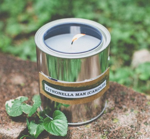 father's day gift guide | DIY citronella paint can candle via Hello Natural