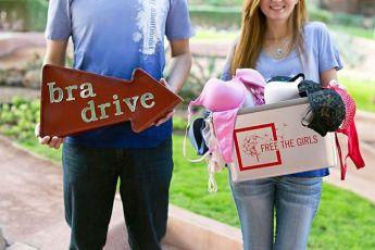 free the girls bra drive