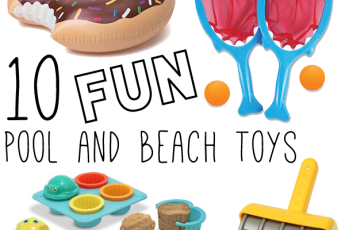 10 fun pool and beach toys | Cuddles and Chaos