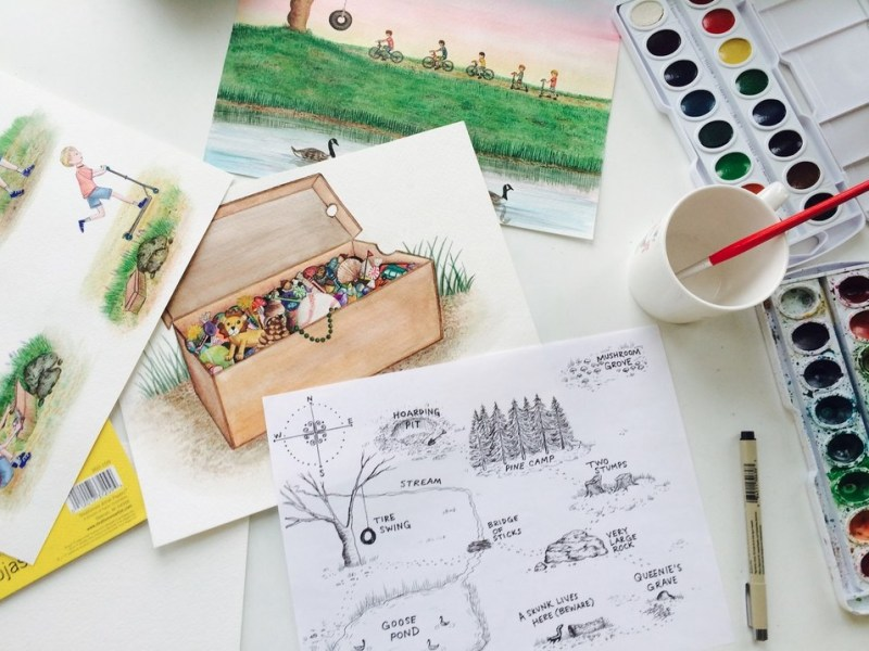 Behind the Scenes: creating a children's book