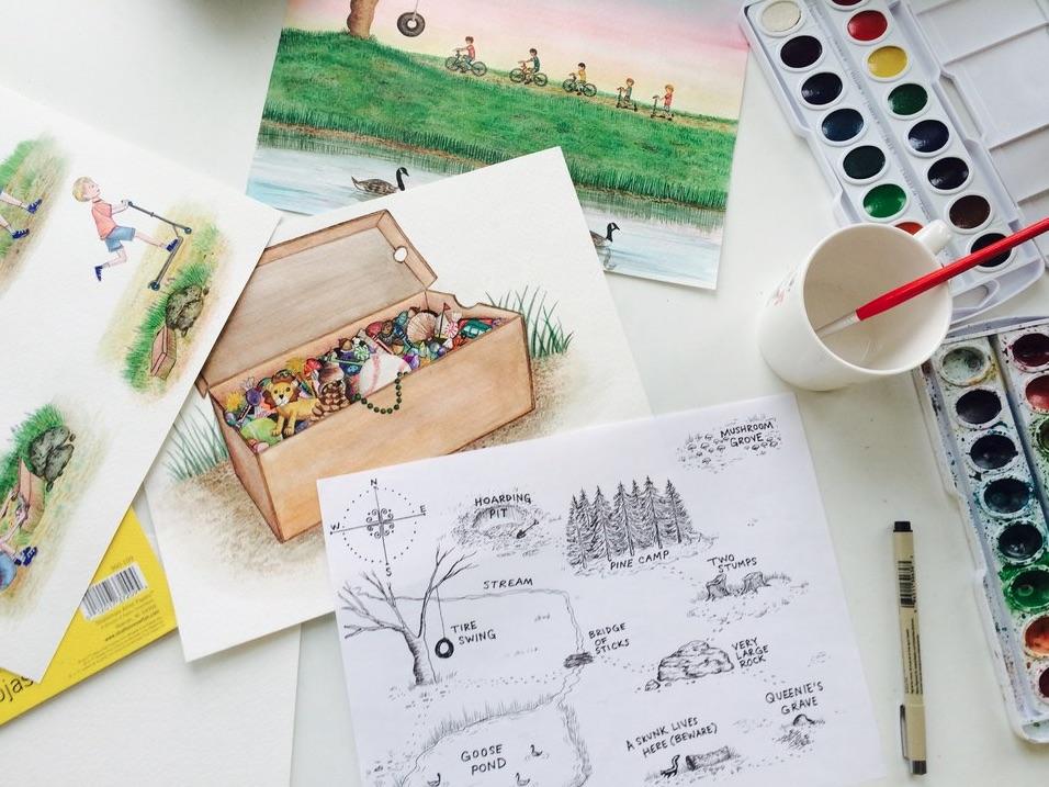 Behind the Scenes of children's book creation