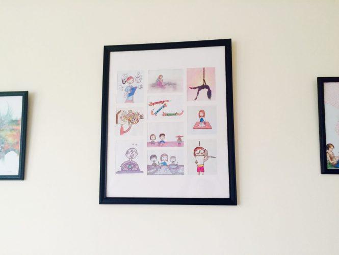 Show Me Your Workspace | framed art