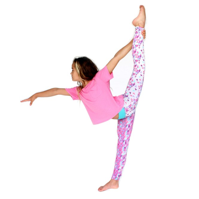 Chooze legging in Awaken Magenta