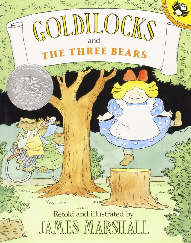 comparing Goldilocks | Goldilocks and the Three Bears by James Marshall