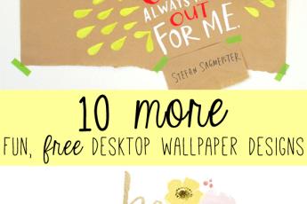 fun, free desktop wallpaper designs