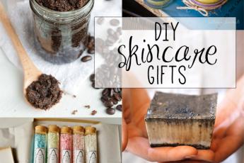 DIY skincare gifts