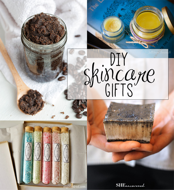 DIY skincare gifts