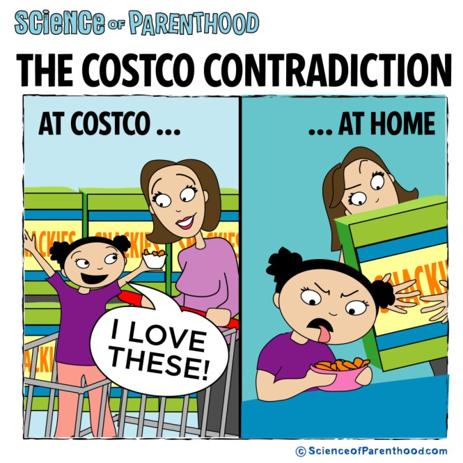 Science of Parenthood | Costco contradiction