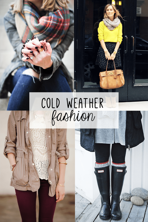 cold weather fashion inspiration