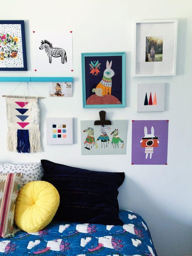 kids decor for grown ups | modern boho