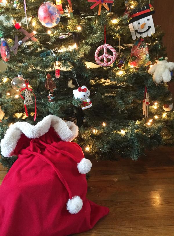 Christmas Eve bag for kids