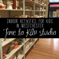 indoor activities for kids in Westchester: Time to Kiln studio
