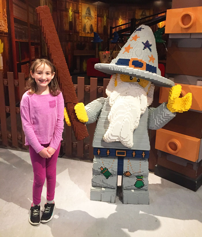 LEGOLAND Discovery Center Westchester Merlin's Apprectice