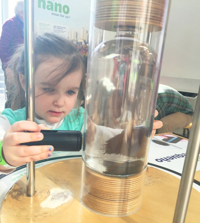Liberty Science Center | exploring the hands-on Nano mini-exhibition