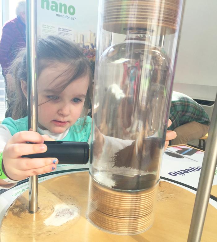 Liberty Science Center | exploring the hands-on Nano mini-exhibition