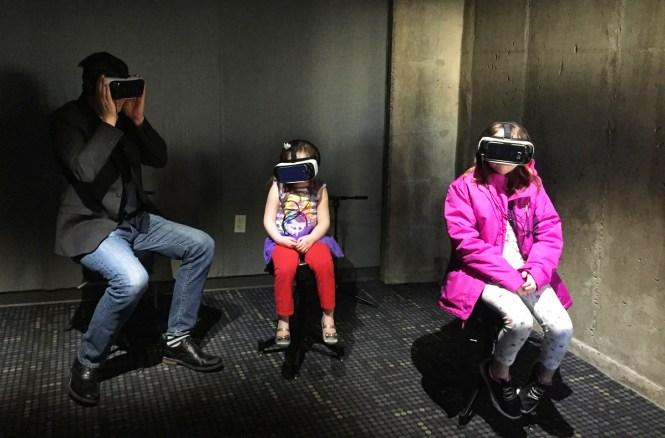 Jacob Burns Viewing and Doing virtual reality room
