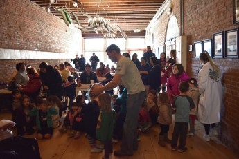 Mad Science party at Big Bang Coffee Roasters