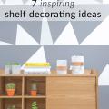 inspiring shelf decorating ideas