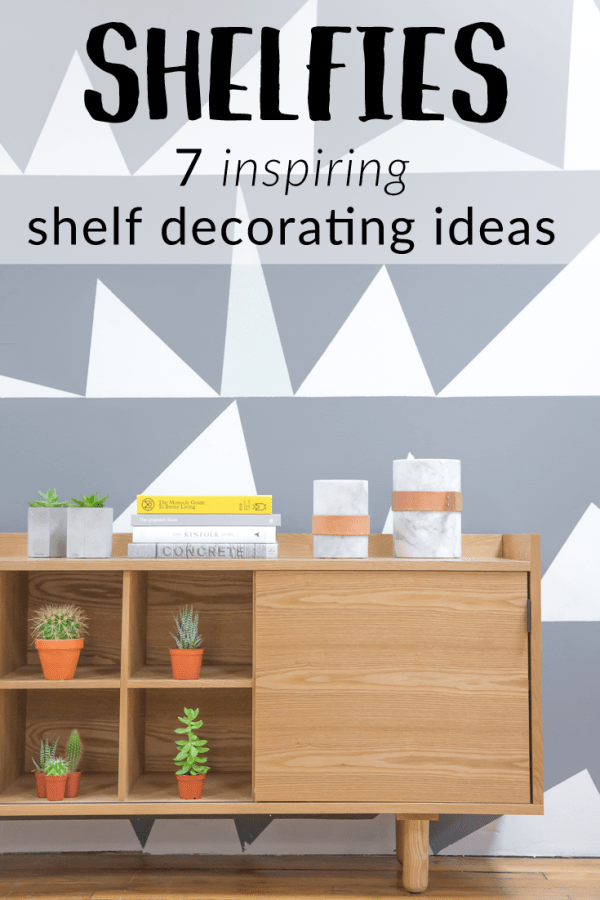 inspiring shelf decorating ideas