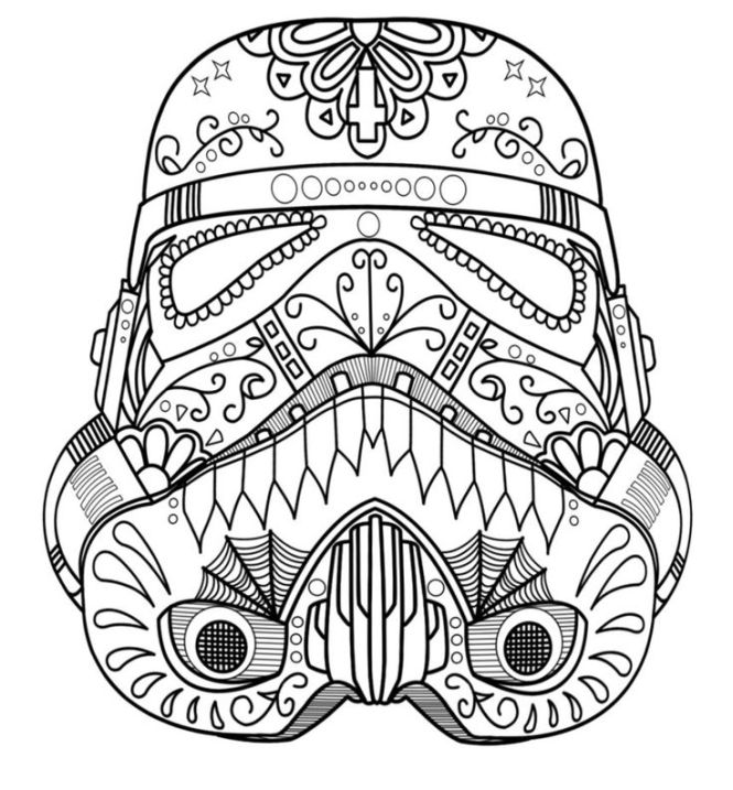 free adult coloring pages | storm trooper