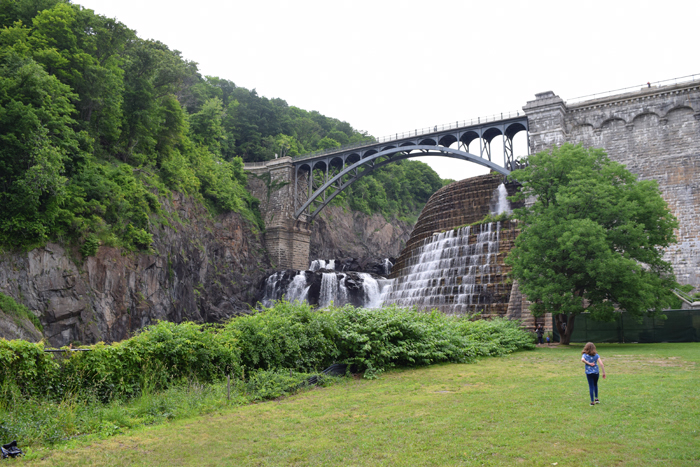 Croton Gorge Park with kids