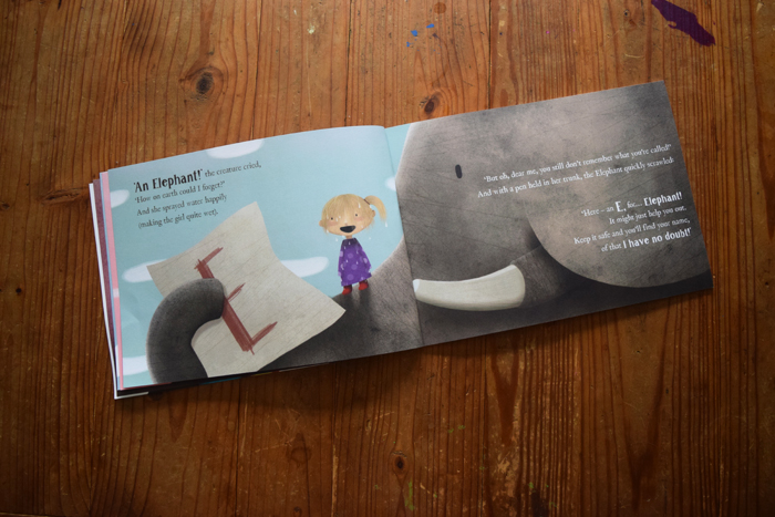 a peek inside | Lost My Name personalized kids books