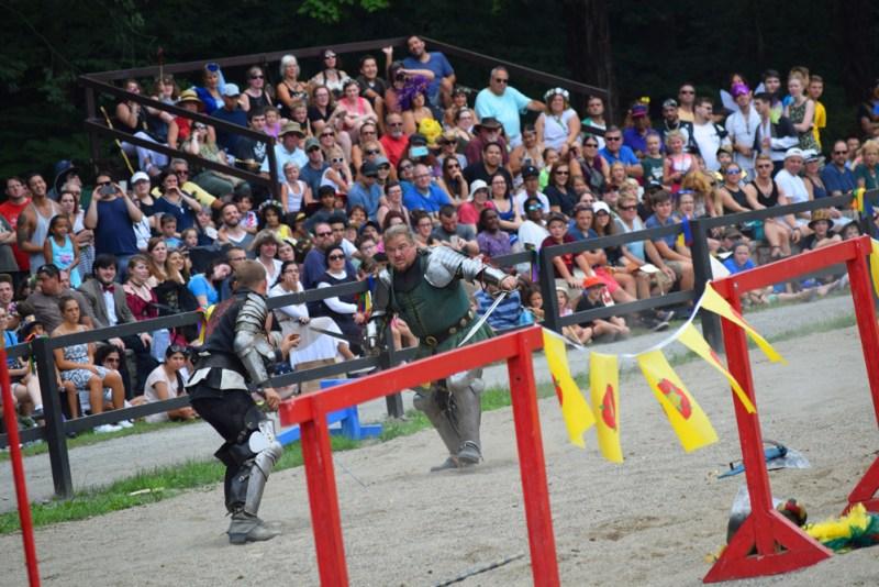 NY Renaissance Faire sword fight