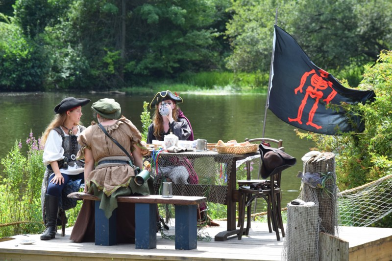 pirates chilling at the Ren Faire