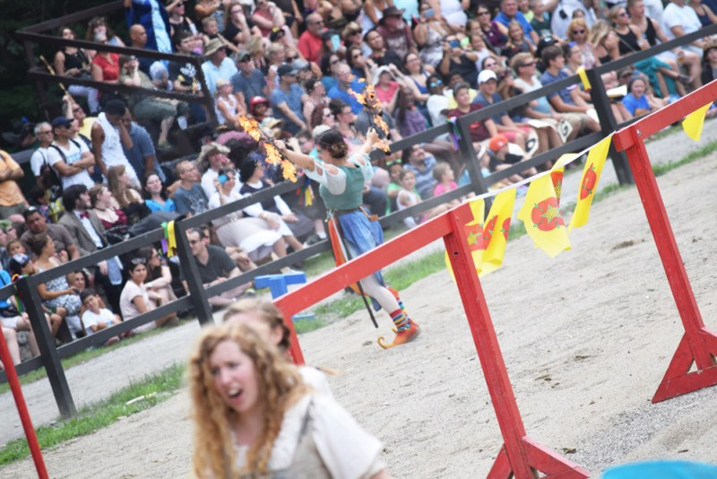pre-joust at the Hudson Valley's NY Renaissance Faire
