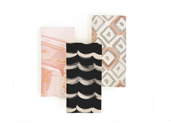 Minted holiday gifts and decor napkins