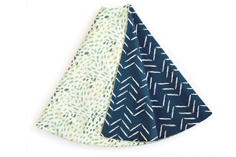 Minted holiday gifts and decor   tree skirts