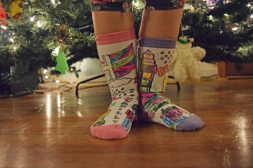 great gift for girls | littlemissmatched colorize collection socks