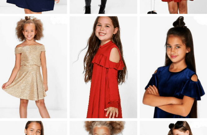 boohoo kids collection: holiday style
